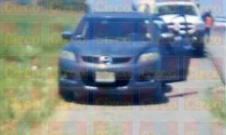 ¡Comando armado robó un tráiler y secuestró a 3 custodios en Lagos de Moreno!