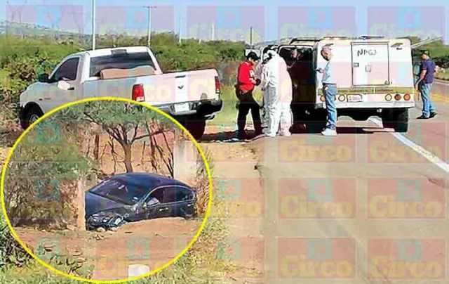 ¡Hombre fue ejecutado de un disparo a bordo de su automóvil en Fresnillo!