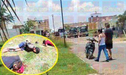 ¡Ya identificaron a los 3 hombres ejecutados en el Condominio Trébol en Lagos de Moreno!