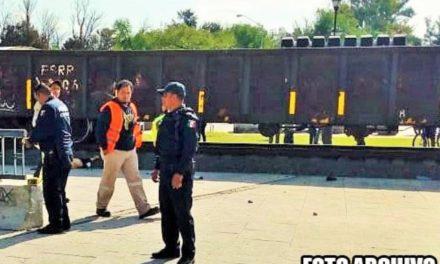 ¡Hombre murió atropellado y destrozado por el tren en Fresnillo!