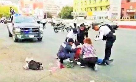 ¡Hombre se suicidó lanzándose de un puente peatonal en Zacatecas!