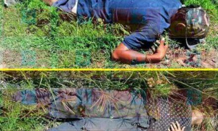 ¡Siguen sin ser identificados los 3 ejecutados en Laureles del Campanario en Lagos de Moreno!