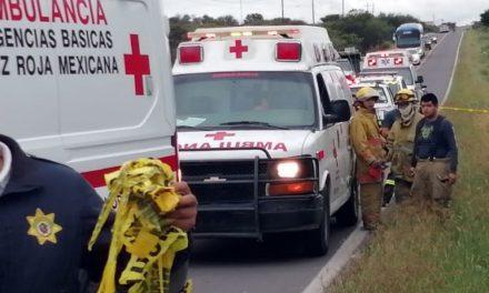 ¡Volcadura de camioneta en Guanajuato dejó 4 muertos originarios de Aguascalientes!