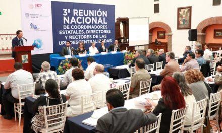 ¡Aguascalientes sede de la Tercera Reunión Nacional de Directores y Coordinadores de UPN!