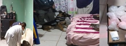 """¡Tras cateo domiciliario detuvieron a narcomenudista y le aseguraron casi 2 kilos de """"crystal"""" en Aguascalientes!"""