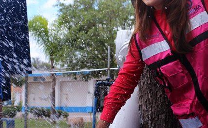 ¡255 millones de pesos invirtió Tere Jiménez en obra hidráulica!