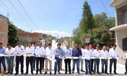 ¡Entrega gobernador obras en Municipio de Calvillo!