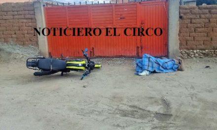 ¡Ejecutaron a un joven motociclista en Calera!