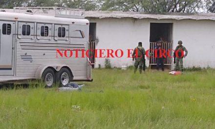 ¡Ejecutaron a 4 hombres en un carril de carreras de caballos en Lagos de Moreno!