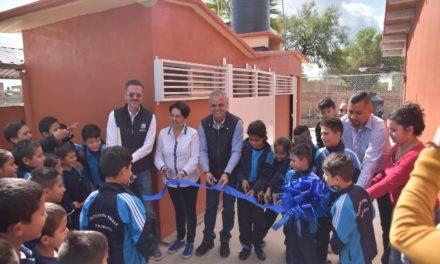 ¡El Gobierno de Jesús María continúa trabajando en la dignificación de instalaciones educativas!
