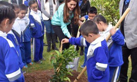 ¡400 mil árboles y plantas durante la administración de Tere Jiménez!