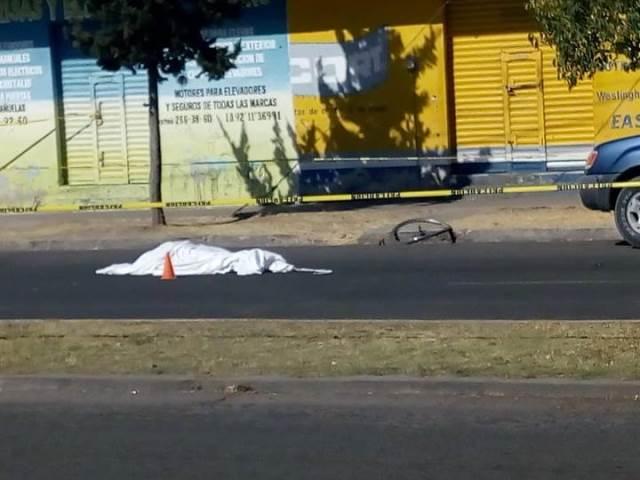 ¡Identificaron a ciclista 6 meses después de haber muerto embestido por una camioneta en Aguascalientes!