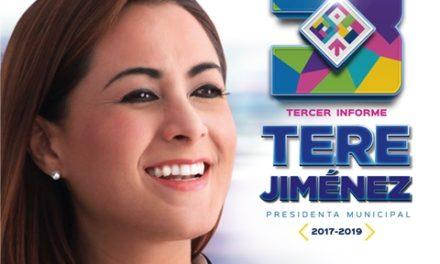 ¡Todo listo para que Tere Jiménez rinda Tercer Informe ante la ciudadanía!