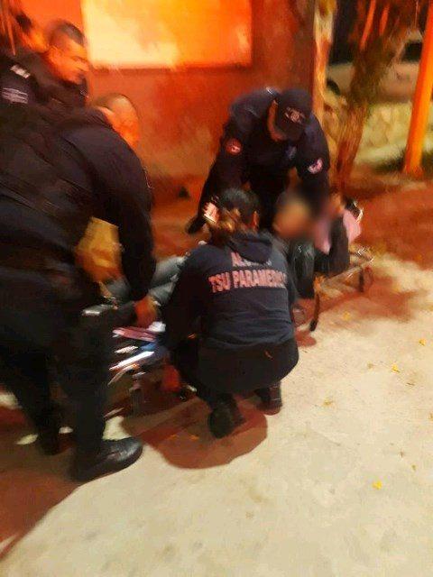 ¡Joven fue baleado por su suegro con un arma de diábolos en Aguascalientes!