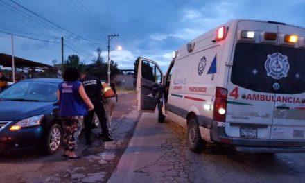 ¡Automovilista recibió golpiza por un altercado vial y tuvo que ser hospitalizado en Aguascalientes!