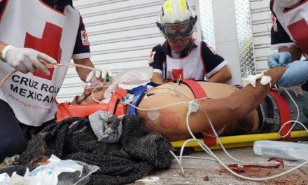 ¡Murió hombre que cayó de un andamio a 5 metros de altura en Aguascalientes!