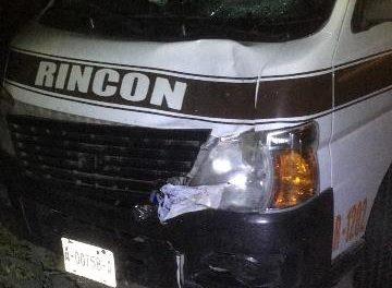 ¡Ancianito originario de Jalisco murió atropellado por una combi de transporte público en Aguascalientes!