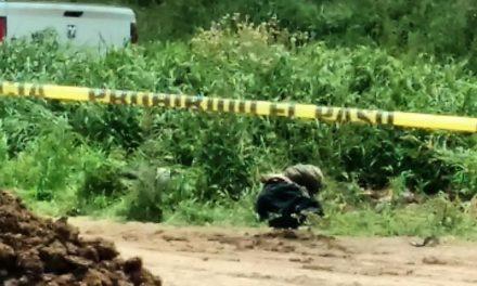 ¡Hombre hallado en un predio al sur de Aguascalientes fue ejecutado de un balazo en la cabeza!