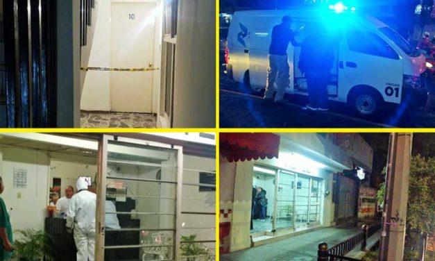 ¡Asesinan a una mujer en el interior de un hotel localizado en la Zona Centro de Aguascalientes!
