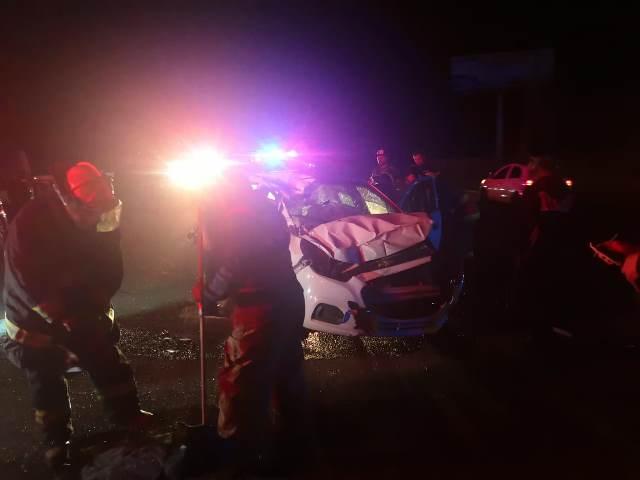 ¡Mujer originaria de Jalisco resultó lesionada tras accidentarse en Aguascalientes!