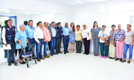 ¡Inaugura Tere Jiménez nuevo espacio para adultos mayores!
