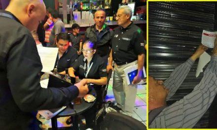 ¡9 antros clausurados y varios detenidos tras operativo en Aguascalientes!