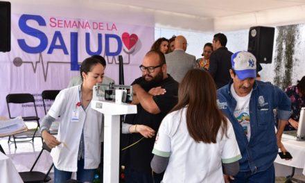 """¡""""Semana de la Salud 2019"""" fomenta cultura de la prevención en trabajadores municipales!"""