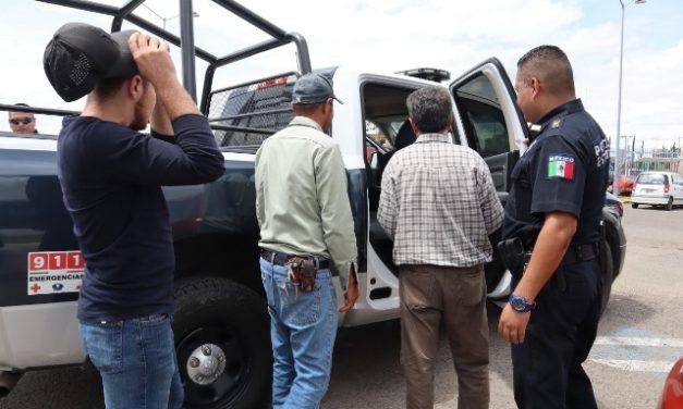 ¡Tras operativo policías localizaron a persona víctima de secuestro virtual en Aguascalientes!