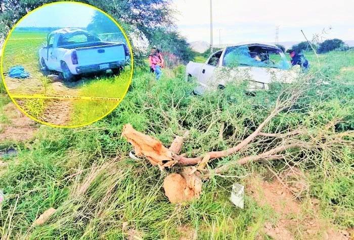 ¡Choque contra un árbol deja saldo de dos muertos y cuatro lesionados!