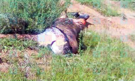 ¡Encontraron a un hombre ejecutado y maniatado en Saín Alto!