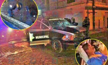 ¡Ejecutaron a un comandante e hirieron a un oficial de la Policía Municipal de Ojuelos!