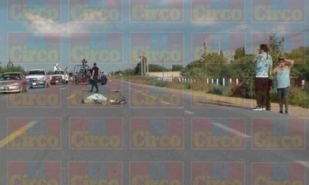¡Motociclista murió tras accidentarse en Fresnillo!