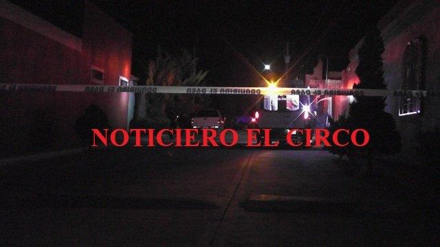 ¡2 sujetos y 1 mujer balearon un domicilio en Zacatecas y escaparon impunemente!
