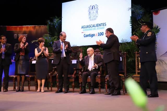 ¡A través de la educación y la cultura, Felipe San José ha contribuido a que el Estado reafirme su identidad: MOS!