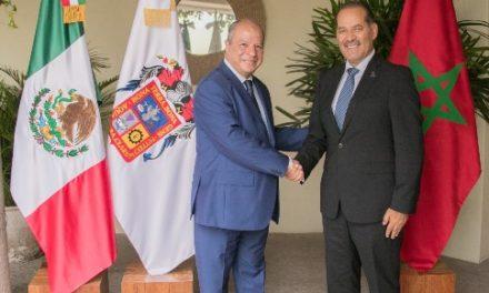 ¡Aguascalientes y Marruecos con interés de colaborar en proyectos económicos!