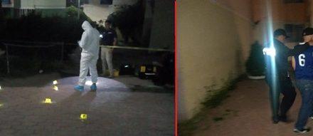 ¡Pistolero baleó un edificio en Aguascalientes como amenaza a uno de sus moradores!