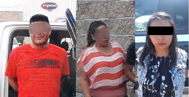"""¡Detuvieron a 4 """"chilangos"""" con 81 billetes falsos de mil pesos con los que hacían compras en Aguascalientes!"""