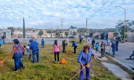 """¡Ciudadanos se unen a programa """"Todos Juntos Limpiemos Aguascalientes""""!"""