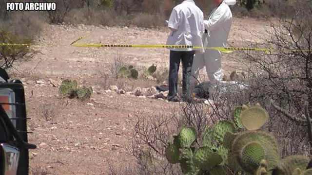 ¡Hallaron 5 cuerpos en el fondo de una noria en Guadalupe!