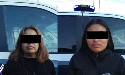 ¡Detuvieron a madre e hija, de Zacatecas, con 70 kilos de marihuana en Aguascalientes!