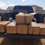 ¡Policía Estatal aseguró poco más de 57 kilos de marihuana en Pinos!