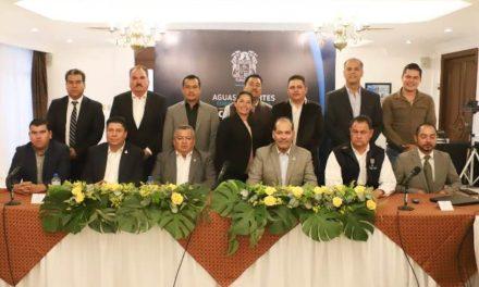 ¡Gobernador y alcaldes en coordinación para emprender proyectos a favor del desarrollo de Aguascalientes!