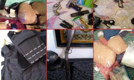 ¡Golpe de la FGE de Aguascalientes al narcomenudeo: detuvo a 3 personas y aseguró armas de fuego y drogas!