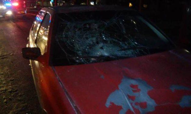 ¡Grave mujer atropellada por un automóvil en Aguascalientes!
