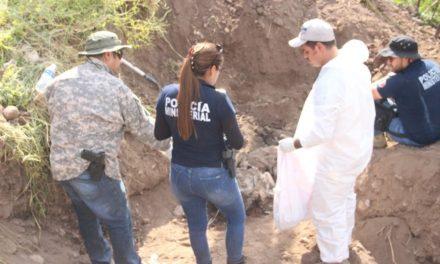 ¡Hallaron una osamenta enterrada en un predio en Calvillo, Aguascalientes!