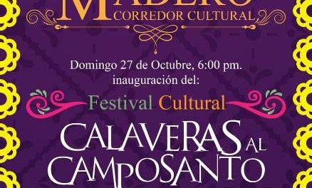 ¡Este domingo nueva edición de Calaveras al Camposanto en Pabellón de Arteaga!
