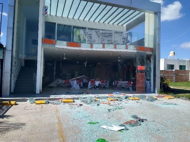 ¡La Coordinación Municipal de Protección Civil atendió explosión en una pizzería en Aguascalientes!