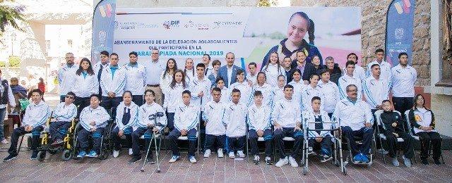 ¡Más de 40 atletas listos para poner en alto el nombre de Aguascalientes en la Paralimpiada Nacional!