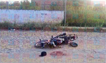 ¡Motociclista fue perseguido y ejecutado por otro en Lagos de Moreno!
