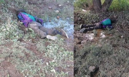¡Hombre desaparecido fue encontrado muerto ahogado en un predio en Aguascalientes!